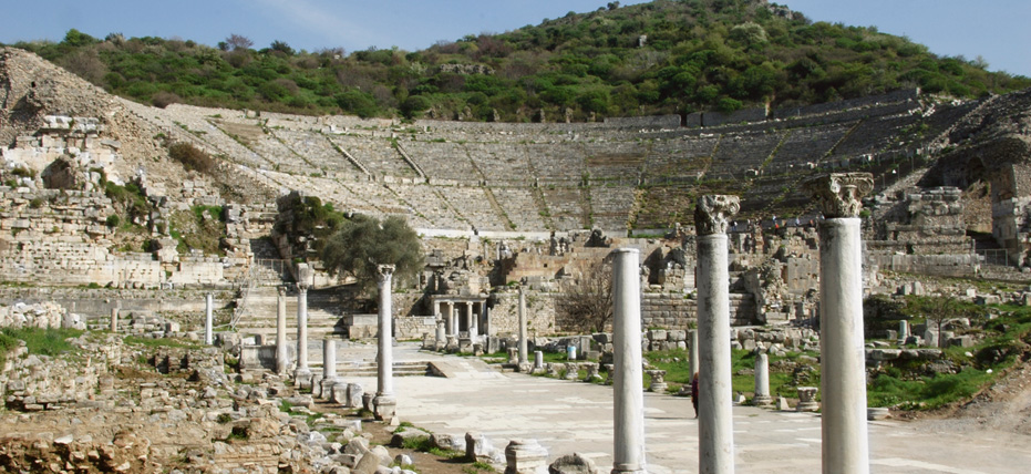 Ephesus – a big shift